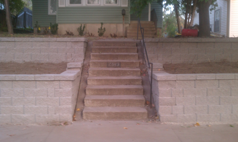 Retaining Walls | Fiedler Landscaping